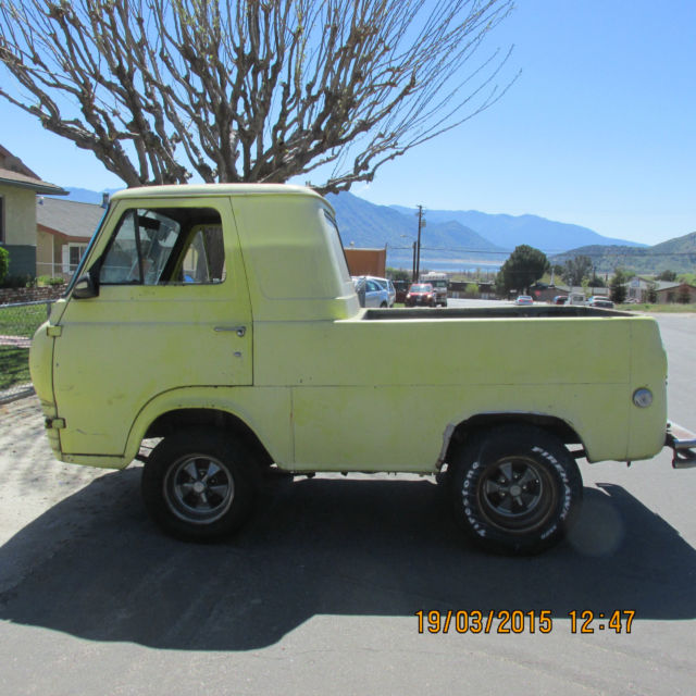 Rare 1961 Ford Econoline Pick Up Truck Classic Ford