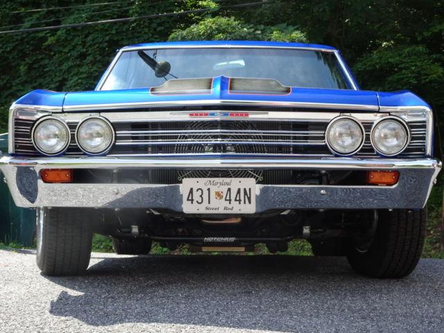 Rare 1967 Chevelle 300 Deluxe 2 Door Post Complete Restore
