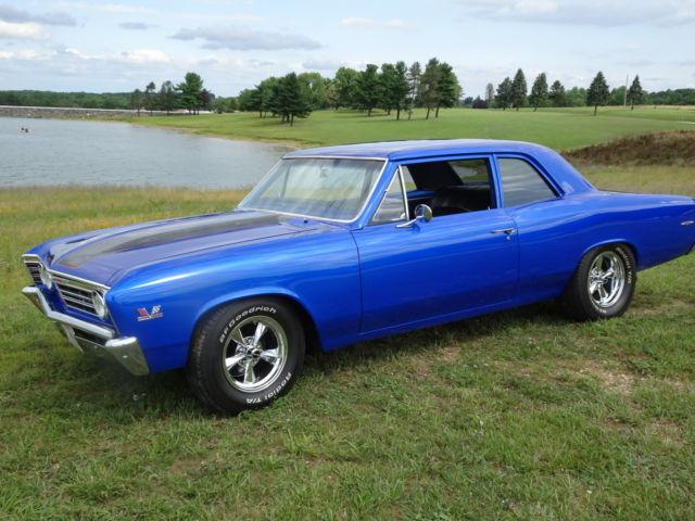 Hertz Cars For Sale >> Rare 1967 Chevelle 300 Deluxe 2 Door Post Complete Restore ...