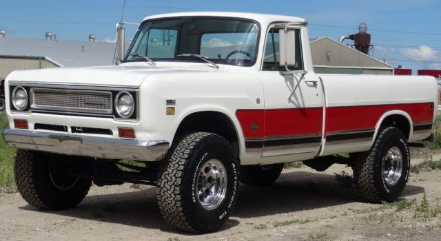 Jackson Tn Used Cars RARE 1971 International Pickup 1210, 4x4, 3/4 ton, Camper Special ...