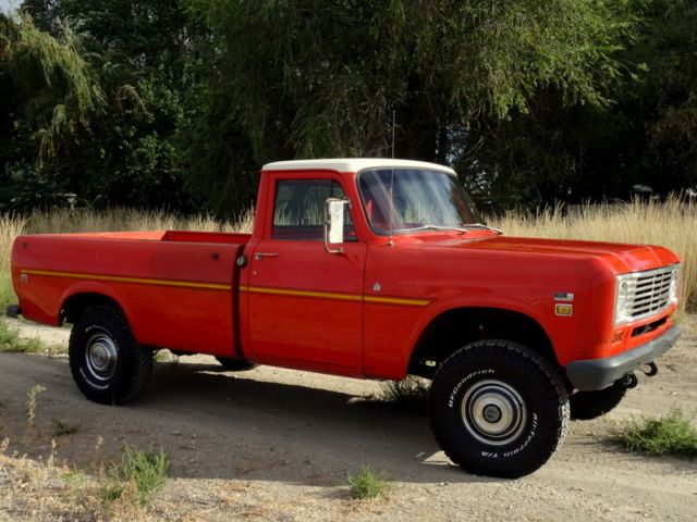 International Pickup Trucks For Sale >> RARE 1975 International 150 4x4 Pickup (Heavy half ton), 36K Original Miles - Classic ...