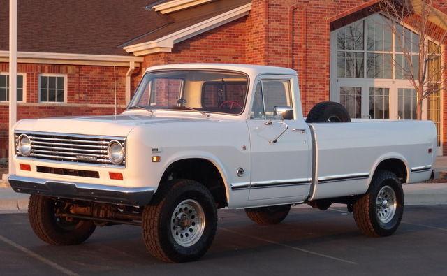 RARE 1975 International Pickup 150, 4x4, 75,000 original