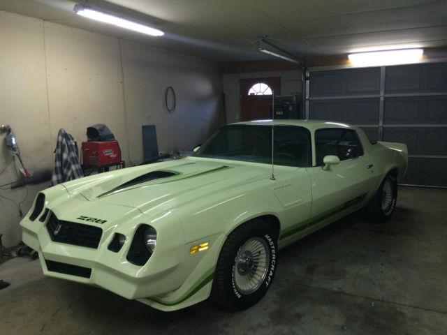 Rare 1979 Chevrolet Camaro Z28 Coupe 2 Door 5 7l Classic