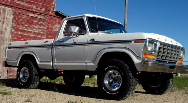 Rare 1979 Ford F150 Ranger 4x4 Shortbox 2 Owner