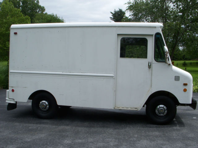 Rare 1980 Chevy 10 Ft Box Aluminum Step Van Classic