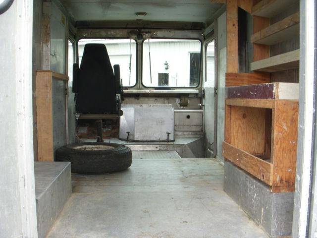 Rare 1980 Chevy 10 Ft Box Aluminum Step Van Classic