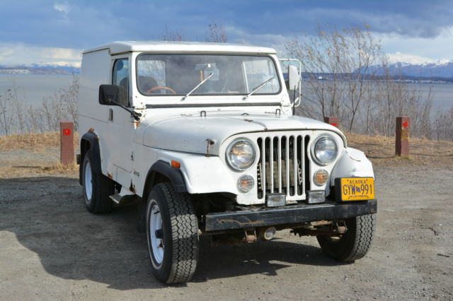 rare 1984 cj8 alaskan postal jeep with world cab hard top classic jeep cj 1984 for sale. Black Bedroom Furniture Sets. Home Design Ideas