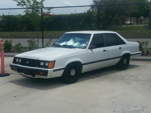 rare 1985 ford ltd lx the 4 door mustang factory v8 classic ford other 1985 for sale. Black Bedroom Furniture Sets. Home Design Ideas