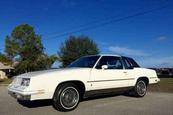 Rare 1985 Oldsmobile Cutlass Supreme Brougham Classic Car