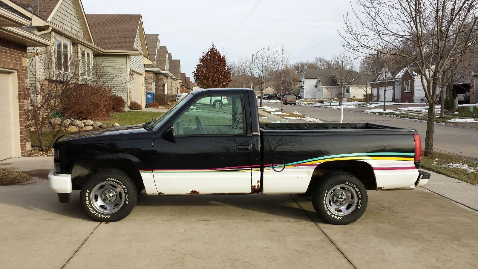 rare 1993 chevrolet indy pace truck short box pick up. Black Bedroom Furniture Sets. Home Design Ideas