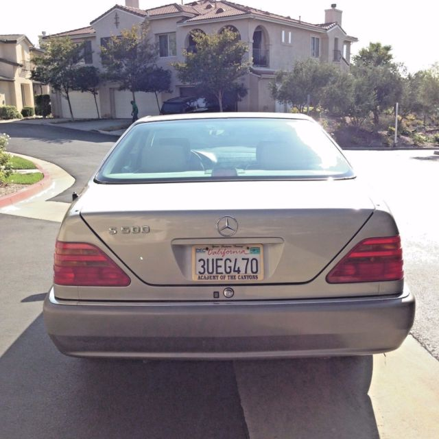RARE 1994 Mercedes-Benz S-Class S500 2-Door Coupe W140