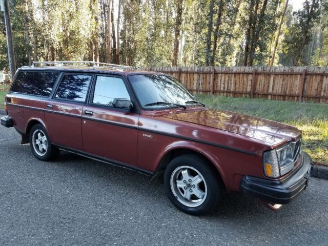 rare 245 turbo glt wagon 1 owner orig california plates. Black Bedroom Furniture Sets. Home Design Ideas