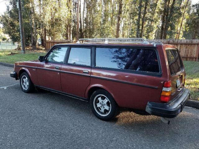 rare 245 turbo glt wagon 1 owner orig california plates 242 240 245 classic volvo 240 1982. Black Bedroom Furniture Sets. Home Design Ideas
