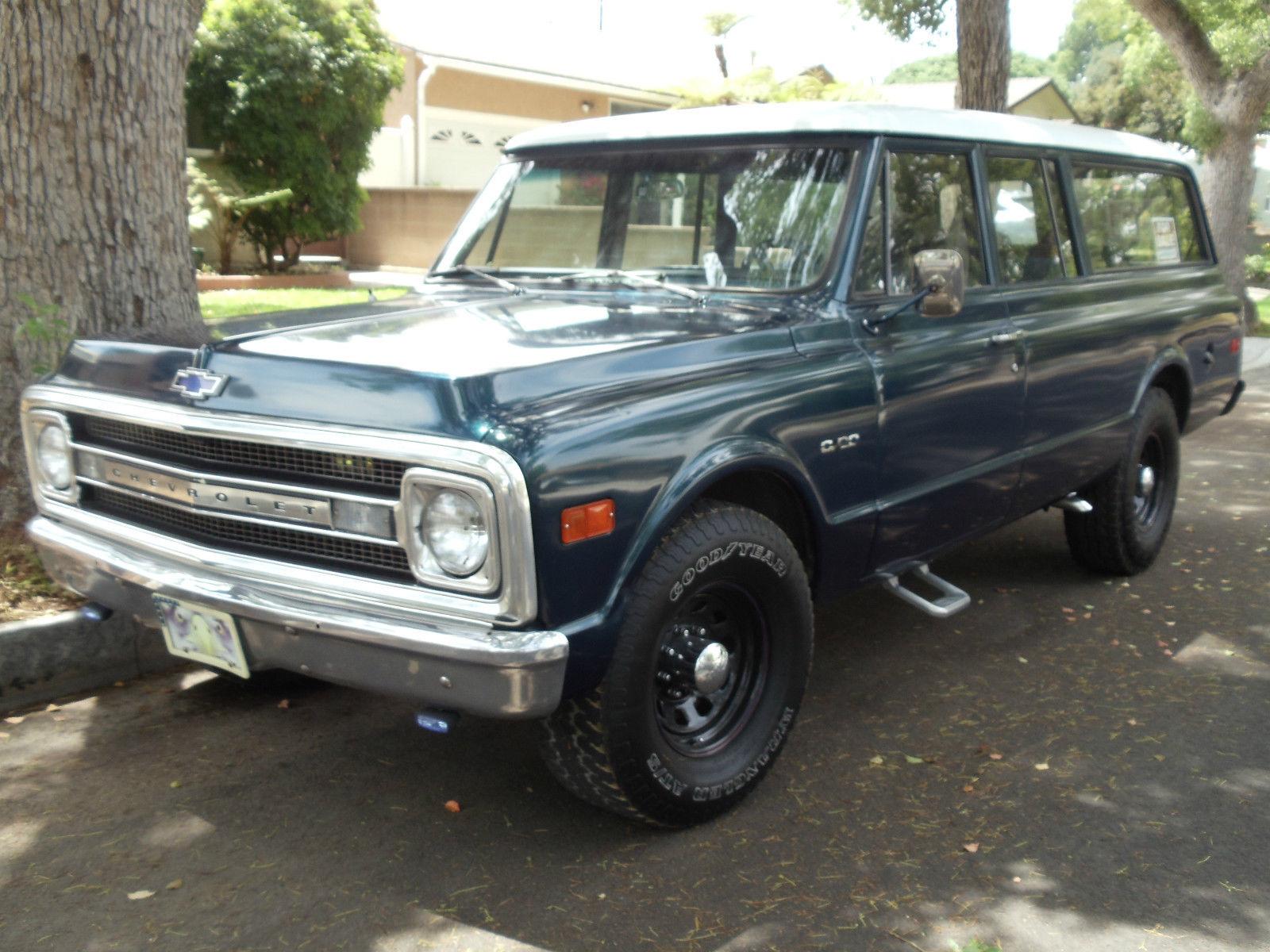 Rare 3 Door Classic Truck 1970 Suburban Chevy Truck