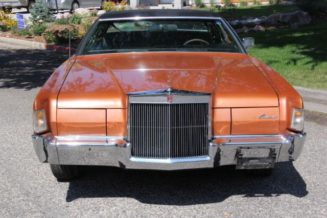 Rare Gt Gt Gt 72 Lincoln Mark Iv