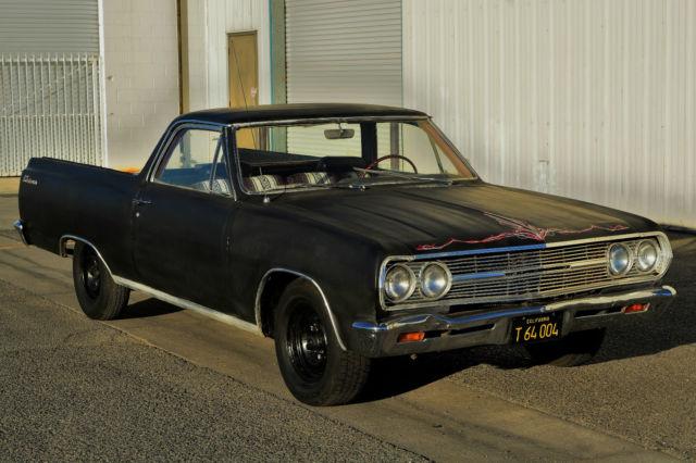 Rare barn find 1965 el camino custom 283 v8 stick shift runs great 1965 chevrolet el camino custom 283 v8 stick shift runs great no reserve sciox Image collections
