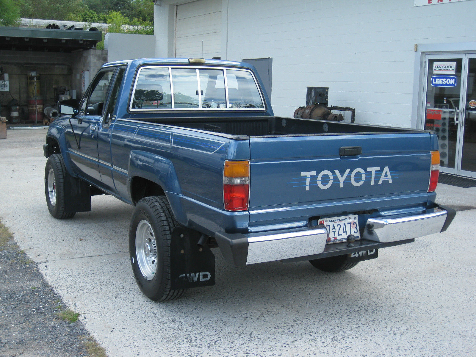 Rare Blue 1988 Toyota Pickup Extra Cab Auto 4wd Very Clean 4cyl Classic Toyota Other 1988 For Sale