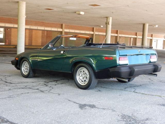 RARE EXCITING 1980 Triumph TR8 Sports Car TR6 Spitfire V8 Powered