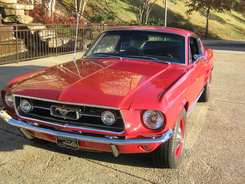 Rare Fully Restored Mustang S Code Fastback Cobra Jet With Speed on Ford Vin Paint Code