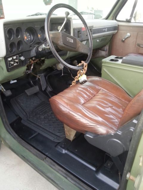 Rare M1009 Cucv Military Truck D10 Blazer K5 Low Mileage