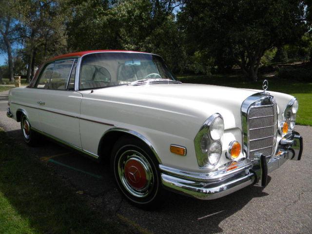 Rare optioned 1964 220seb coupe w111 classic mercedes for Rare mercedes benz