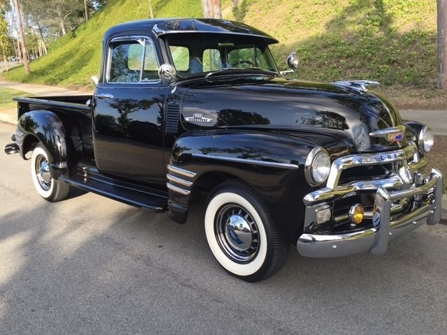 Rare restored 1954 1955 chevrolet early series 3100 for 1955 chevy 5 window truck