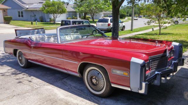 Rare Rumble Seat One Of Built Cadillac Eldorado Convertible Limited