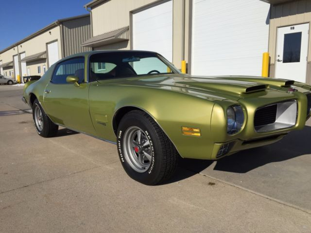 Rare #'s matched 1971 Formula 455  Only 350 built  With Build sheet