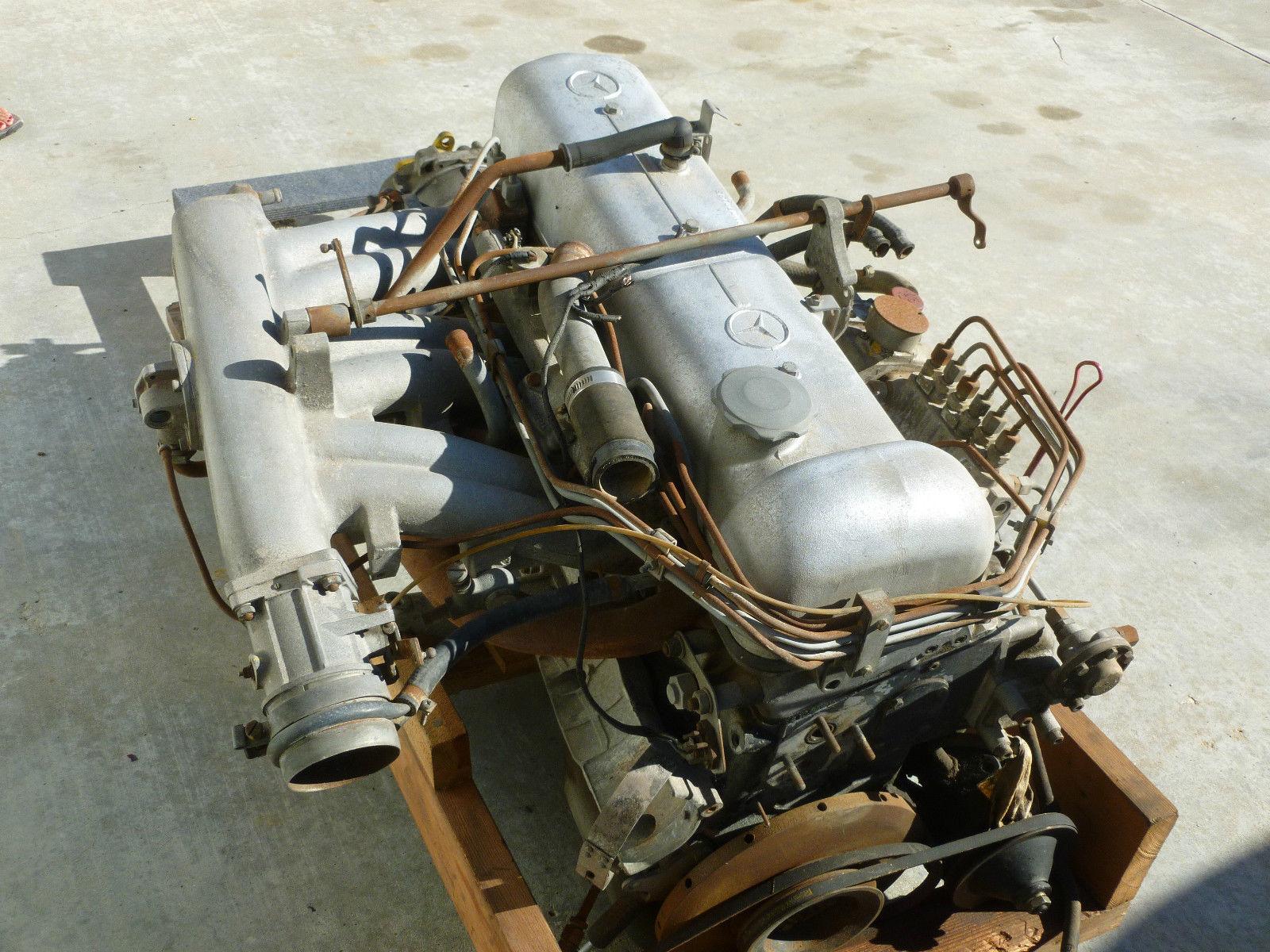 Rare W112 300SE Cpe CA. blk plate car Sunroof, leather w ...