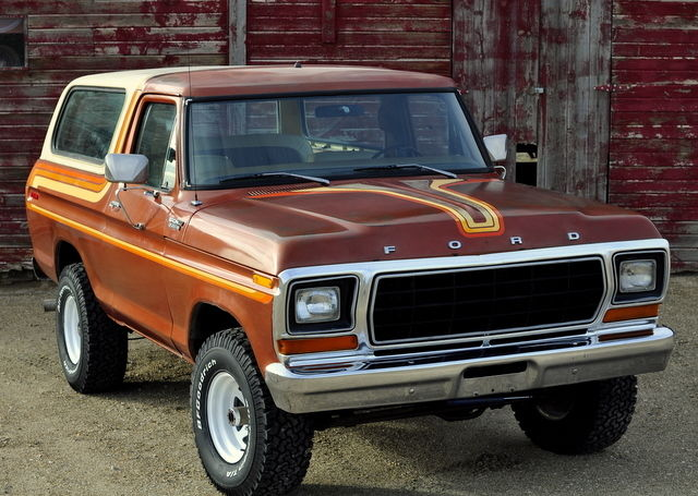 Rare Original 1979 Ford Bronco 4x4 Air Conditioning