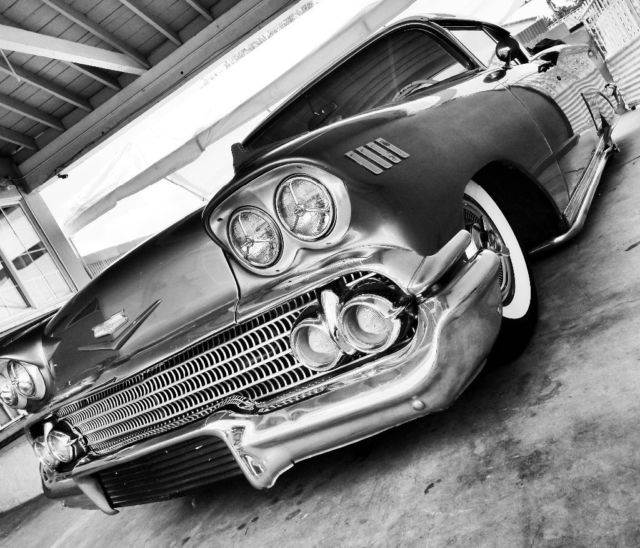 Ready For Paint Chevy 1958 Impala..Original Color Coral