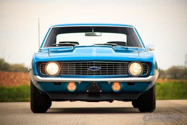 Real 1969 Copo Camaro 427 425hp 4 Speed Certified