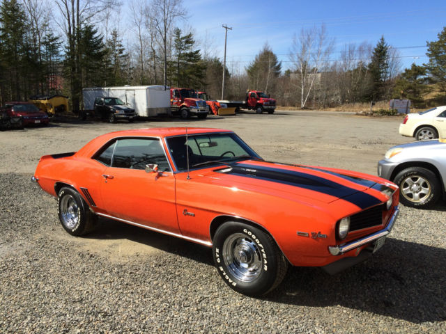 Real Code 72 Hugger Orange Paint Real V8 Real 4 Speed