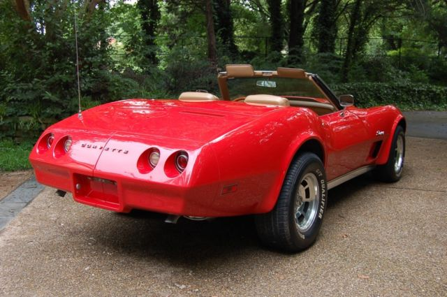 1965 Corvette For Sale >> REAL DEAL Red Big Block 1974 Corvette Convertible 454 502 Very Fast Ultra Nice - Classic ...