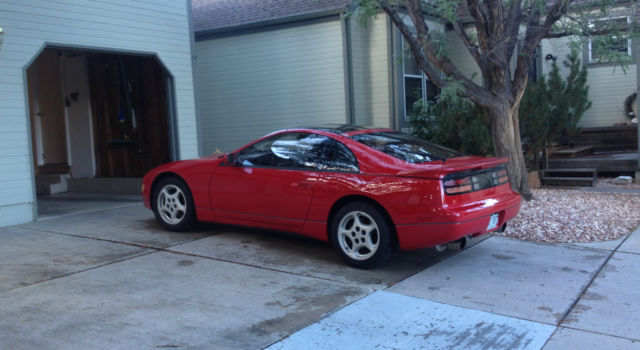 red 300zx twin turbo  41k miles  5 speed manual  leather 1990 nissan 300zx owners manual Nissan 300ZX Engine