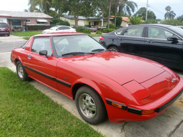 red mazda rx7 1985 s 1 classic mazda rx 7 1985 for sale. Black Bedroom Furniture Sets. Home Design Ideas