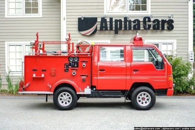 Red Toyota Hiace At Alphacars Of Acton Classic Toyota
