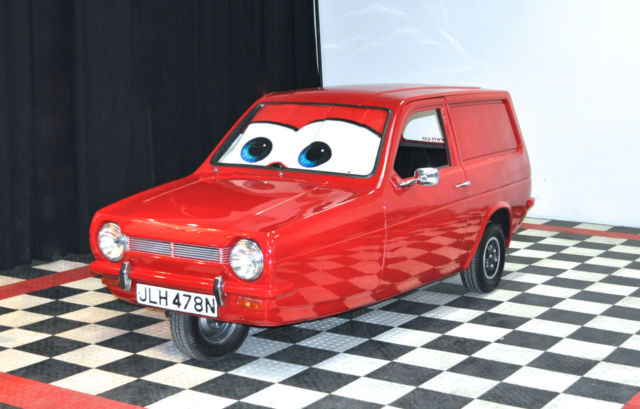 Reliant Robin As Seen On Top Gear Bbc Disney Cars Mr