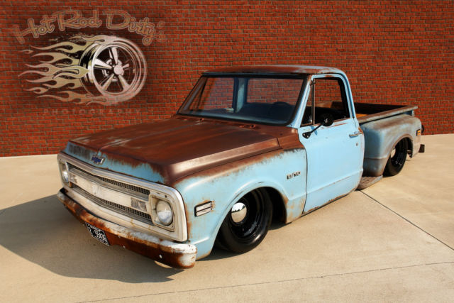 1969 Chevy Truck For Sale >> Restomod Chevy Hot Rat Street Rod No Air Ride Bagged ...