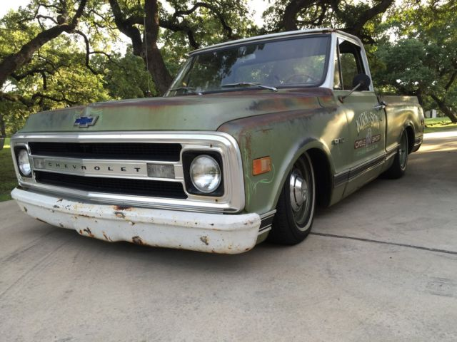 Restomod Shop Truck Patina Bagged Updated C10 Big