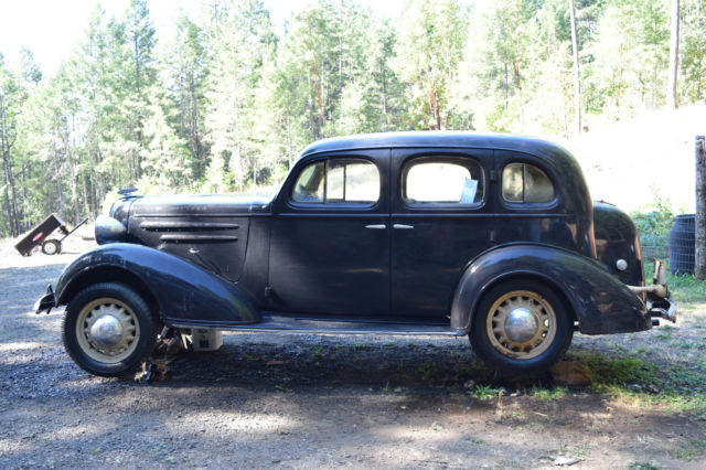 Restoration project 1936 chevrolet chevy sedan classic for 1936 chevy master deluxe 4 door for sale