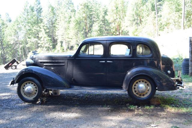 Restoration project 1936 chevrolet chevy sedan classic for 1936 chevrolet 4 door sedan