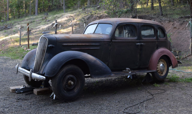 Restoration project 1936 chevrolet chevy sedan classic for 1936 chevy 4 door