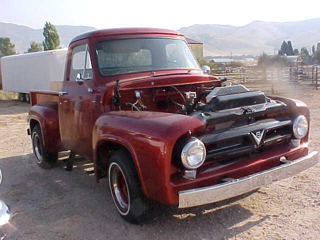 restored 1953 ford f100 pickup truck f 100 rebuilt 239 flathead classic ford f 100 1953 for sale. Black Bedroom Furniture Sets. Home Design Ideas