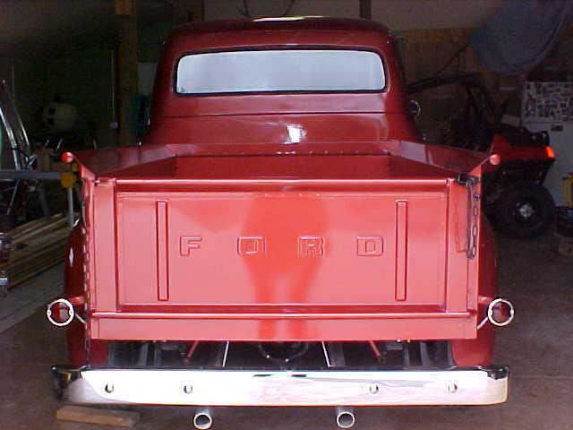 Restored Ford F Pickup Truck F Rebuilt Flathead