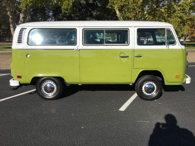 restored 1977 vw bus t2 low original miles rust free 1 owner