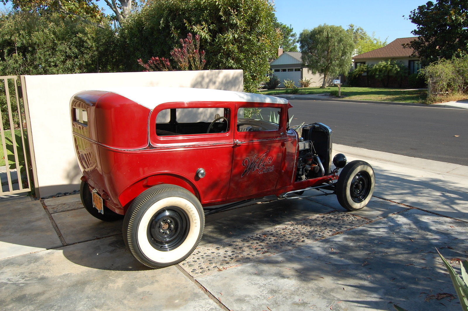 Restored Vintage 1930 Ford Model A Sedan Hot Rod 30 W 32