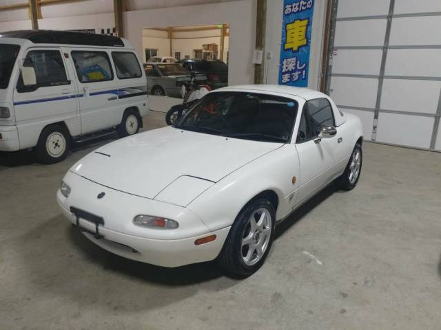 RHD IMPORTED MAZDA EUNOS ROADSTER HARDTOP FROM JAPAN JDM