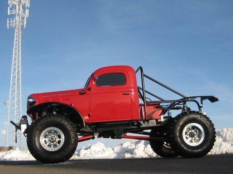 Rock Crawler, Chopped, 480hp V-8, Legacy Classic Trucks ...