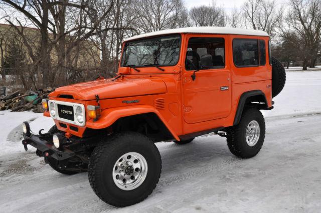 "RUST FREE - 1980 FJ40 - ""Orange Crush"" - Classic Toyota ..."